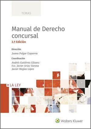 MANUAL DE DERECHO CONCURSAL 3ª ED. 2020