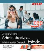 CUERPO GENERAL ADMINISTRATIVO ADMINISTRACION GENERAL 1