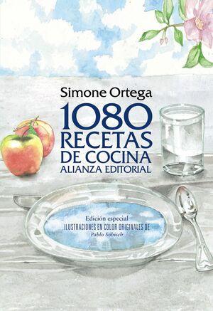 1080 RECETAS DE COCINA. ED. ILUSTRACIONES COLOR PABLO SOBISCH
