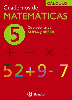5 OPERACIONES DE SUMA Y RESTA