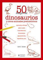 50 DIBUJOS DE DINOSAURIOS Y OTROS ANIMALES PREHIST