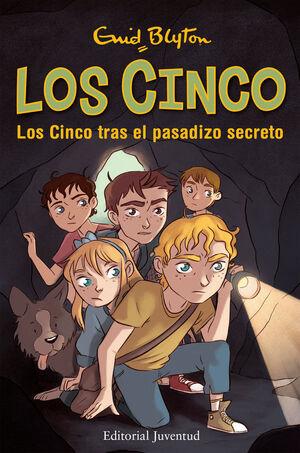 LOS CINCO TRAS EL PASADIZO SECRETO