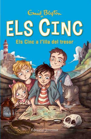 CINC 1, ELS: ELS CINC A L'ILLA DEL TRESOR (TD)