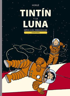 TINTIN Y LA LUNA (ALBUM DOBLE)
