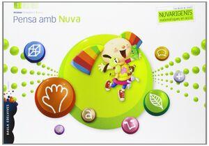 PENSA AMB NUBA (INFANTIL 3 AÑOS PRIMER TRIMESTRE)