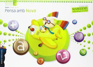 PENSA AMB NUVA (INFANTIL 3 AÑOS TERCER TRIMESTRE)