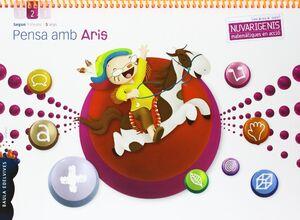 PENSA AMB ARIS (INFANTIL 5 AÑOS SEGUNDO TRIMESTRE)