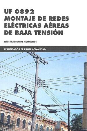 MONTAJE DE REDES ELÉCTRICAS AÉREAS DE BAJA TENSIÓN