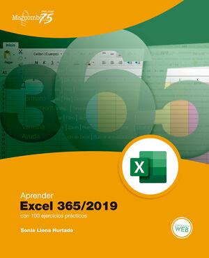 APRENDER EXCEL 365/2019 CON 100 EJERCICIOS PRÁCTICOS