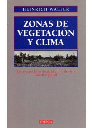 ZONAS DE VEGETACION Y CLIMA