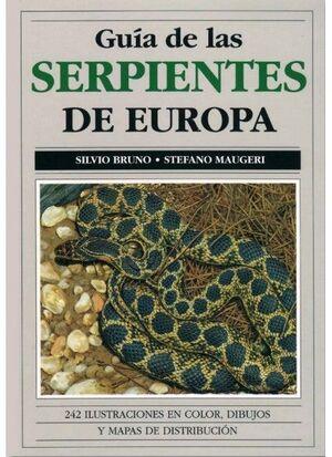 GUIA DE LAS SERPIENTES DE EUROPA