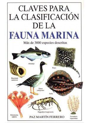 CLAVES PARA LA CLASIFICACION DE FAUNA MARINA