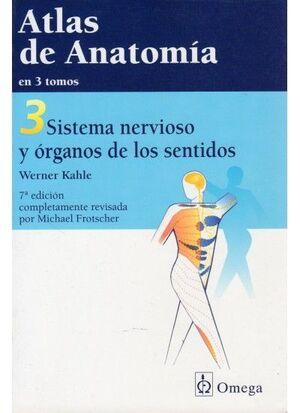 ATLAS DE ANATOMIA, TOMO 3, N/ED.