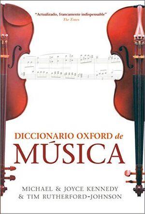 DICCIONARIO OXFORD DE MUSICA
