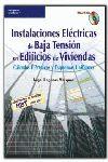 INSTALACIONES ELÉCTRICAS DE BAJA TENSIÓN EN EDIFICIOS DE VIVIENDAS