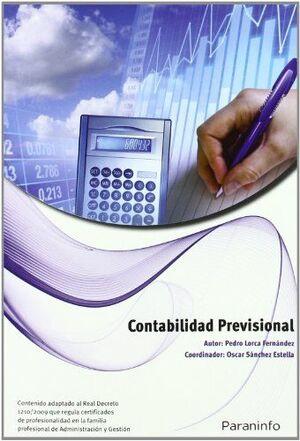 CONTABILIDAD PREVISIONAL