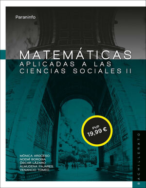 MATEMÁTICAS II PARA CIENCIAS SOCIALES. 2º BACHILLERATO (LOMCE)