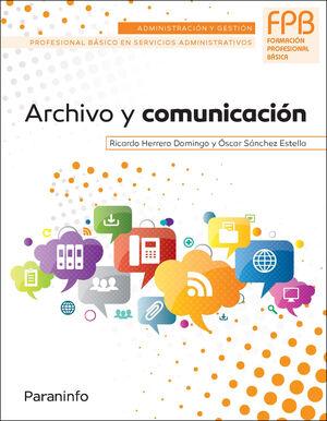ARCHIVO Y COMUNICACIÓN