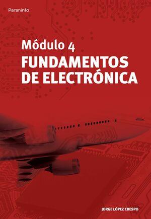 MÓDULO 4. FUNDAMENTOS DE ELECTRÓNICA