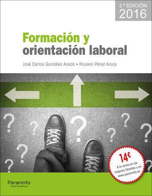 FORMACIÓN Y ORIENTACIÓN LABORAL - EDICIÓN 2016