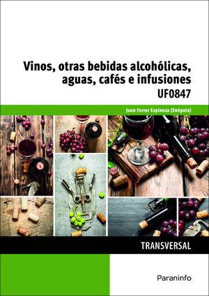 VINOS, OTRAS BEBIDAS ALCOHÓLICAS, AGUAS, CAFÉS E INFUSIONES