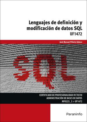 LENGUAJES DE DEFINICIÓN Y MODIFICACIÓN DE DATOS SQL