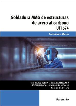 SOLDADURA MAG DE ESTRUCTURAS DE ACERO AL CARBONO
