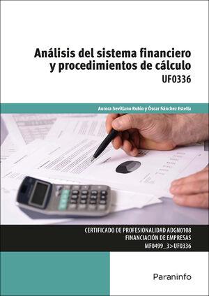 ANÁLISIS DEL SISTEMA FINANCIERO Y PROCEDIMIENTOS DE CÁLCULO