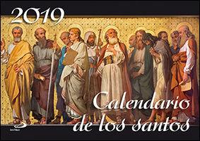 CALENDARIO PARED DE LOS SANTOS 2019