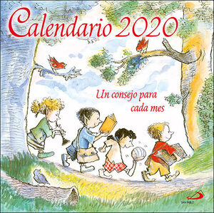 CALENDARIO DE PARED UN CONSEJO PARA CADA MES 2020