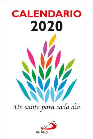 CALENDARIO UN SANTO PARA CADA DÍA 2020