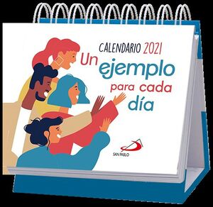 CALENDARIO DE MESA UN EJEMPLO PARA CADA DÍA 2021