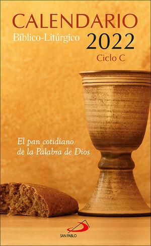CALENDARIO BÍBLICO-LITÚRGICO 2022 - CICLO C