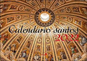 CALENDARIO DE PARED SANTOS 2022