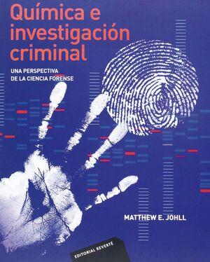 QUÍMICA E INVESTIGACIÓN CRIMINAL .