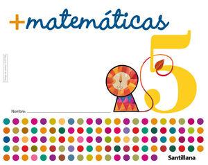 MAS MATEMATICAS 5