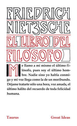 EL LIBRO DEL FILÓSOFO (SERIE GREAT IDEAS 21)