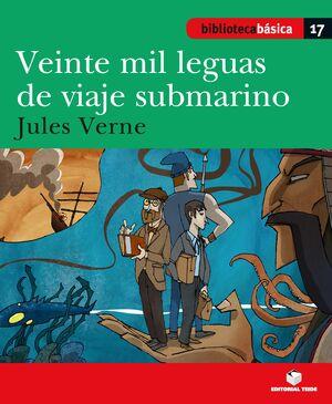 BIBLIOTECA BÁSICA 018 - VEINTE MIL LEGUAS DE VIAJE SUBMARINO -J. VERNE-