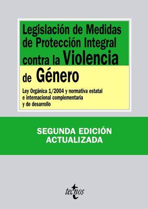 LEGISLACIÓN DE MEDIDAS DE PROTECCIÓN INTEGRAL CONTRA LA VIOLENCIA DE GÉNERO
