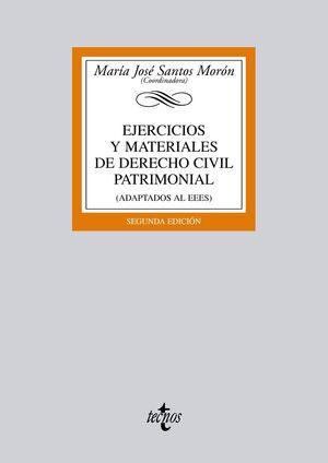 EJERCICIOS Y MATERIALES DE DERECHO CIVIL PATRIMONIAL 2ª ED