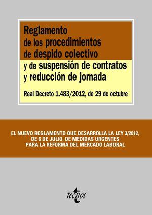 REGLAMENTO DE LOS PROCEDIMIENTOS DE DESPIDO COLECTIVO Y DE SUSPENSIÓN DE CONTRAT