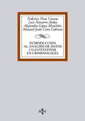 INTRODUCCIÓN AL ANÁLISIS DE DATOS CUANTITATIVOS EN CRIMINOLOGÍA