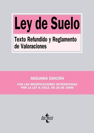 LEY DEL SUELO. 2ª ED. 2013