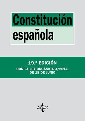 CONSTITUCIÓN ESPAÑOLA. 19 ED. 2014