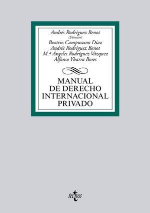 MANUAL DE DERECHO INTERNACIONAL PRIVADO