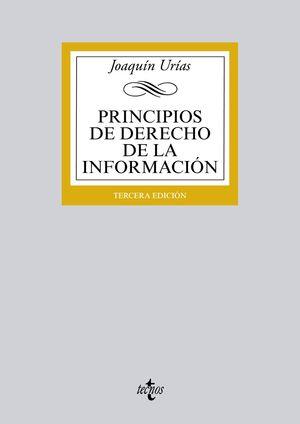 PRINCIPIOS DE DERECHO DE LA INFORMACIÓN