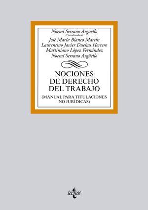 NOCIONES DE DERECHO DEL TRABAJO