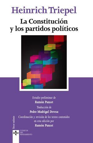 LA CONSTITUCIÓN Y LOS PARTIDOS POLÍTICOS