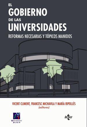 EL GOBIERNO DE LAS UNIVERSIDADES