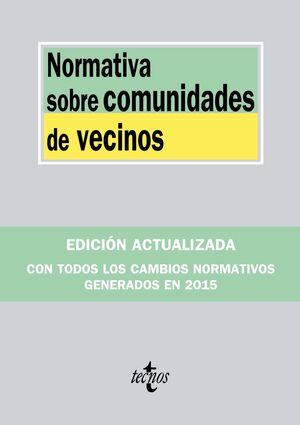 NORMATIVA SOBRE COMUNIDADES DE VECINOS